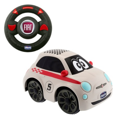 Chicco Hračka autíčko FIAT 500  na dálkové ovládání 2+