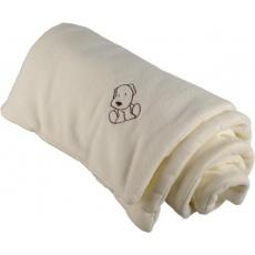 KAARSGAREN-Zateplená dětská deka smetanová - doprodej