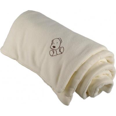 KAARSGAREN-Zateplená dětská deka smetanová