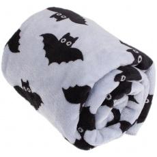 KAARSGAREN-Deka Flanel fleece netopýři 70x100cm