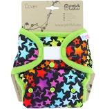 Petit Lulu-Svrchní kalhotky jednovelikostní-Duhové hvězdy
