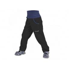 UNUO-NEW softshellové kalhoty bez zateplení-černé