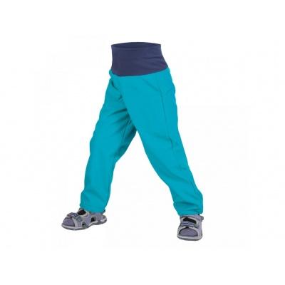 UNUO-NEW Batolecí softshellové kalhoty bez zateplení AQUA -vel. 80/86