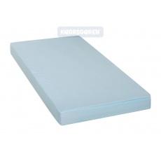 KAARSGAREN-2v1 Modré prostěradlo 100x200cm a chránič matrace