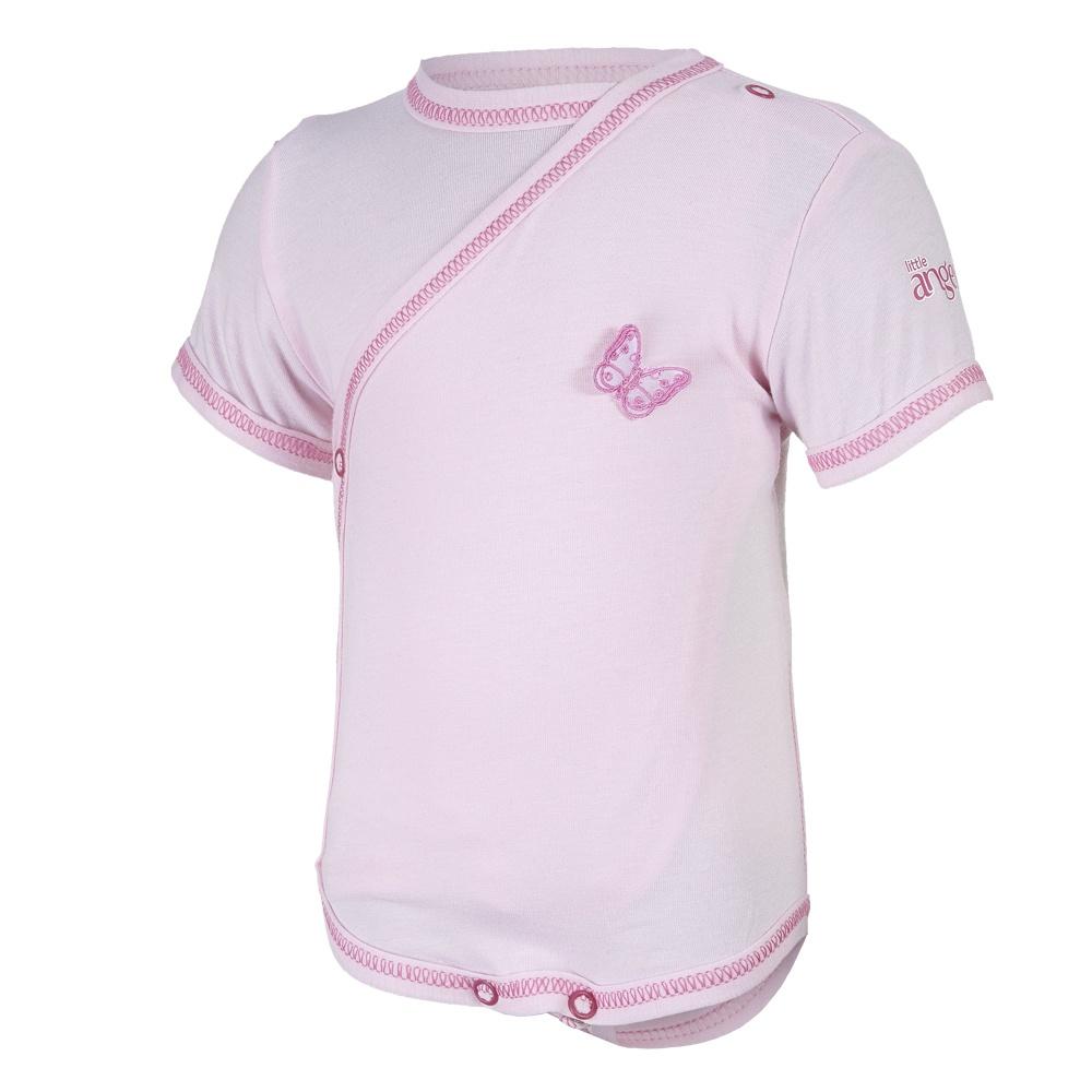 Little Angel-Body tenké zavinovací KR Outlast® - růžová baby