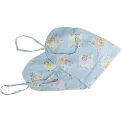 KAARSGAREN-Povlak na kojící polštář modrý miminka