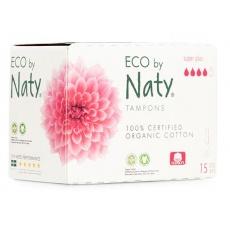 Tampony dámské Super Plus 15ks Naty Nature