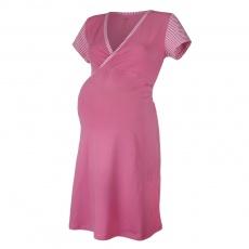 Little Angel-Noční košile tenká Outlast® - pruh sv.růžový Velikost: XXL