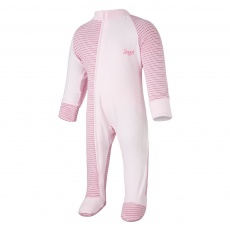 Little Angel-Overal tenký DR Outlast® - pruh růžovobordový/růžová baby Velikost: 56