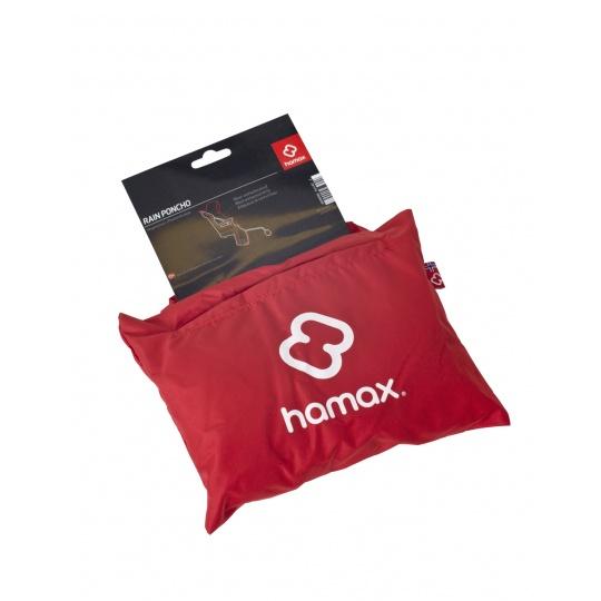 HAMAX Pláštěnka k cyklosedačce Red