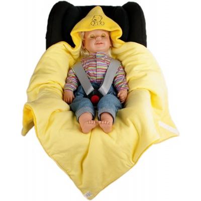 KAARSGAREN-Zimní zavinovačka žlutá pejsek