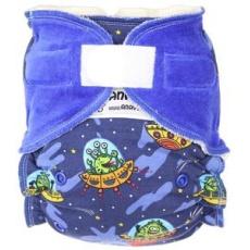 Anavy-rostoucí (4-15 kg) Kalhotková plena na suchý zip Létající talíř