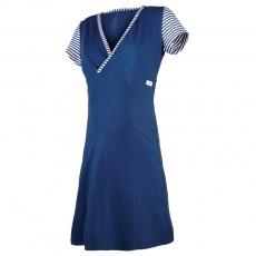 Little Angel-Noční košile tenká Outlast® - pruh tm.modrý Velikost: XXL