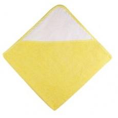 KAARSGAREN-Osuška s kapucí žlutá
