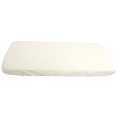KAARSGAREN-2v1 Bílé prostěradlo 80x200cm a chránič matrace