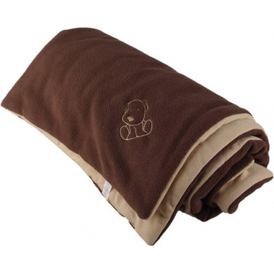 KAARSGAREN-Zateplená dětská deka hnědo béžová