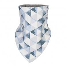 Little Angel-Šátek na krk trojúhelník BIO Outlast® - antracit