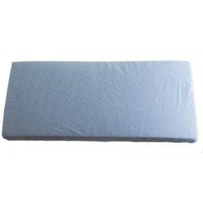 KAARSGAREN-2v1 Modré prostěradlo 80x200cm a chránič matrace
