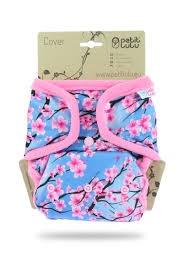 Petit Lulu-Svrchní kalhotky jednovelikostní-Sakura PAT