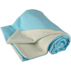 KAARSGAREN-Dětská merino deka tyrkysová