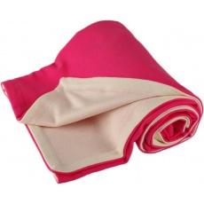 KAARSGAREN-Dětská merino deka růžová