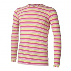Little Angel-Tričko smyk DR Outlast® - pruh růžovozelený Velikost: 164
