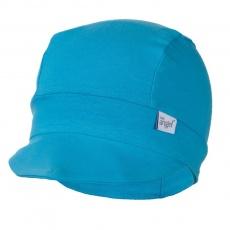 Little Angel-Kšiltovka tenká Outlast® - azurově modrá Velikost: 3, 42-44 cm
