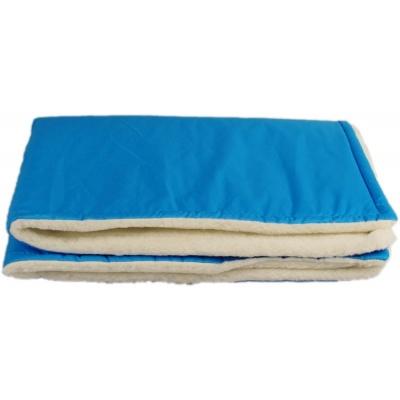 KAARSGAREN-Tyrkysová zimní deka merino