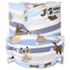 Anavy-rostoucí (4-15 kg) Kalhotková plena na patentky Kočky