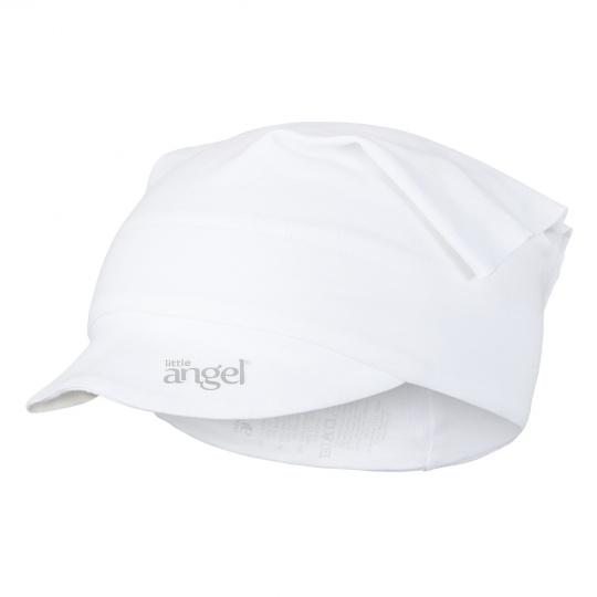 Little Angel-Šátek tenký kšilt Outlast® - bílá Velikost: 6 | 54-57 cm