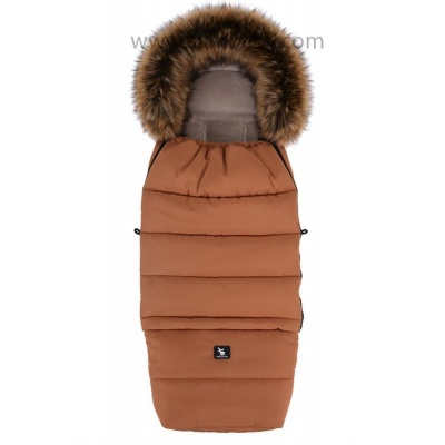 Cottonmoose-Fusak zimní combi YUKON amber, kožich