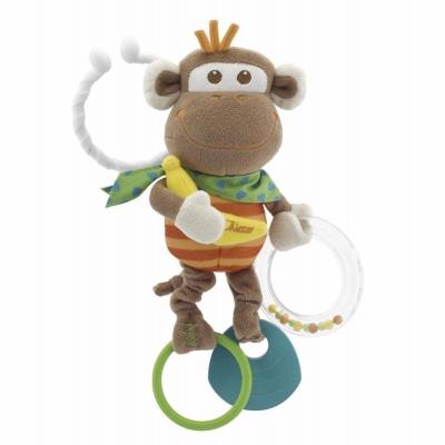 CHICCO Hračka opice vibrující 3m+