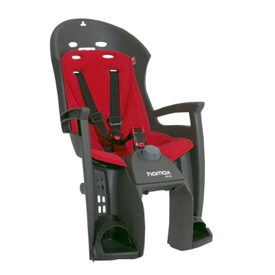 Hamax Cyklosedačka SIESTA PLUS – adapter šedá/červená