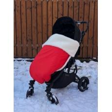 KAARSGAREN-Červená zimní deka merino nepadací