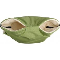 KAARSGAREN-Zelený rukávník s beránkem z biobavlny