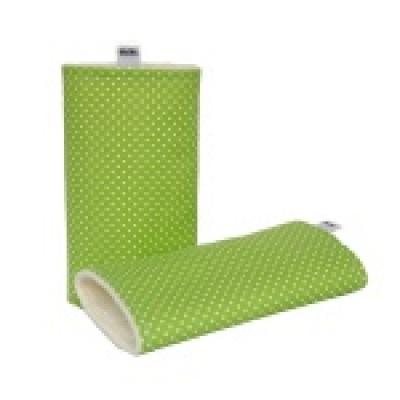 Kibi-Chrániče ramenních popruhů-Zelený puntík
