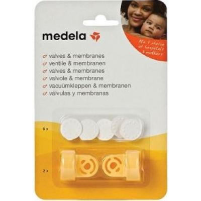 MEDELA-2 Ventily vč. 6 bílých membrán