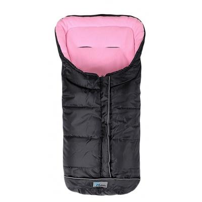 Altabébé Fusak zimní Easy Lux černo - růžová