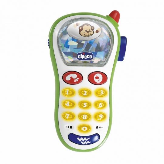CHICCO Hračka vibrující telefon s fotoaparátem 6m+