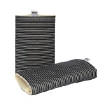 Kibi-Chrániče ramenních popruhů-Černobílý proužek