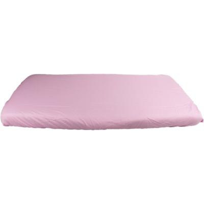 KAARSGAREN-Růžové prostěradlo bavlněné plátýnko 70 x 160 cm