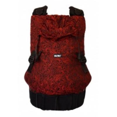 KIBI-NosítkoEVO Flora Red velvet+slintáčky