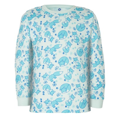 Gmini PRIMA-pyžamo dvoudílné LIŠKA A modrá 080