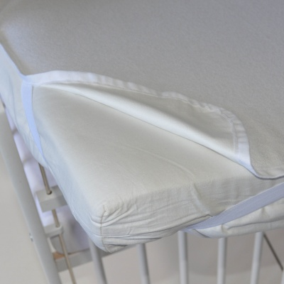 Little Angel-Chránič na matraci nepropustný - bílá