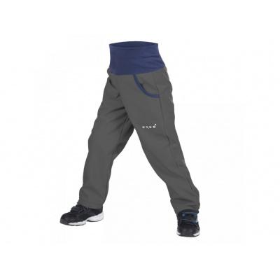 UNUO-New Softshellové kalhoty s fleecem-antracitové-VÝPRODEJ