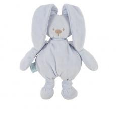 NATTOU Hračka plyšová zajíček Lapidou cuddly blue 36 cm