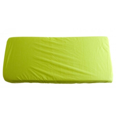 KAARSGAREN-2v1 Zelené prostěradlo 100x200cm a chránič matrace