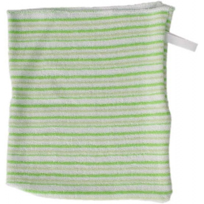 KAARSGAREN-Žínka jednolícní zelené proužky