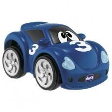 CHICCO Hračka autíčko Turbo Touch - modré 2+