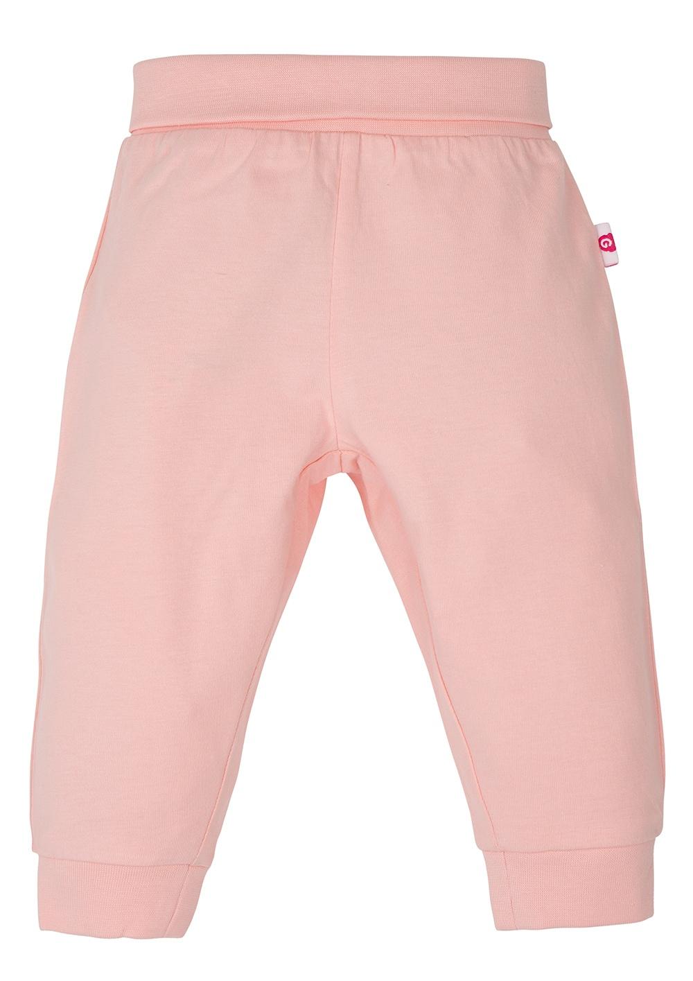 Gmini BASIC-kalhoty bez ťapek B růžová 074